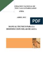 Desinfección Solar