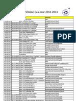 ECA Calendar 2012-2013