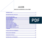 Manual de ALGOR