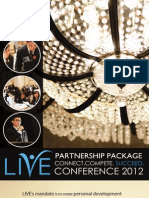 LIVE2012 Partnership Package