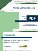 Clase Historia de México hasta 1917