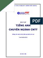 Tieng Anh Chuyen Nganh CNTT - Bai Tap