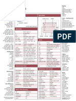 Css Cheat Sheet v1