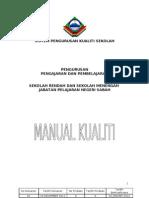 Manual Kualiti Sekolah Sabah