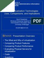 UMich Virtualization Testing