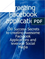 Creating Facebook Applications
