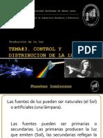 Fuentes de iluminacion