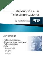Introducción a las telecomunicaciones