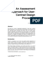 User Centered Design Assessment by Jokela