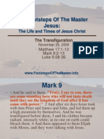 Jesus the Transfiguration