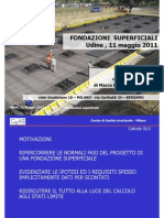 Fondazioni Superficiali Becci Udine 2011