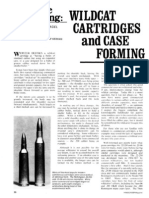 Wildcat Cartridges and Case Forming