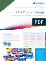 Verbatim Product Catalogue Feb 2012