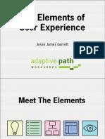 Elements of User eXperience by Jesse James Garrett