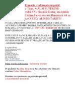 Codex - Alimentarius