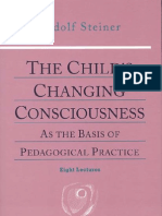 Rudolf Steiner, Childs Changing Consciousness