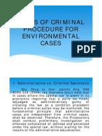 10th Session - Criminal_Procedure for Environmental Cases Cornejo