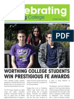 Celebrating Worthing College 2012 Speads