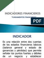 presentación Indicadores Financieros
