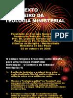 O Contexto Brasileiro Da Teologia Ministerial