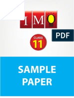Class 11 Imo 3 Years Sample Paper