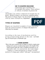 Mechanism of Shaper
