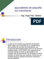 Modelos equivalentes de pequeña señal de los transistores