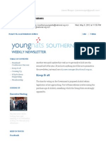 Weekly Newsletter #11 2012