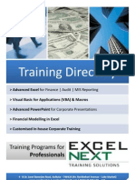 Excel Next_Training Directory