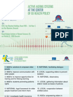 6th European Patients Rights Day - One-page workshop groups reccomandations