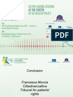 6th European Patients Rights Day - Final highlights and summary, Francesca Moccia