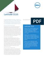 Latitude 2110 Business Specsheet