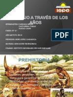 El Trabajo A travez de los años por Jairo Farias y Tomas Castañeda