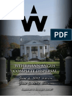 Wehrmann Angus Complete Dispersal Sale Catalog - June 4 & 5, 2012