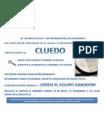 Biblioteca Lagartera CLUEDO 120518
