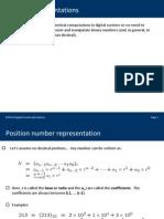 04 Number Representations