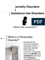 Personality Disorder and Addiction