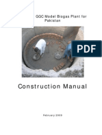 Construction Manual Modified GGC Model Biogas Plant for Pakistan 2009
