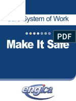 Safe System of Work -Brochure