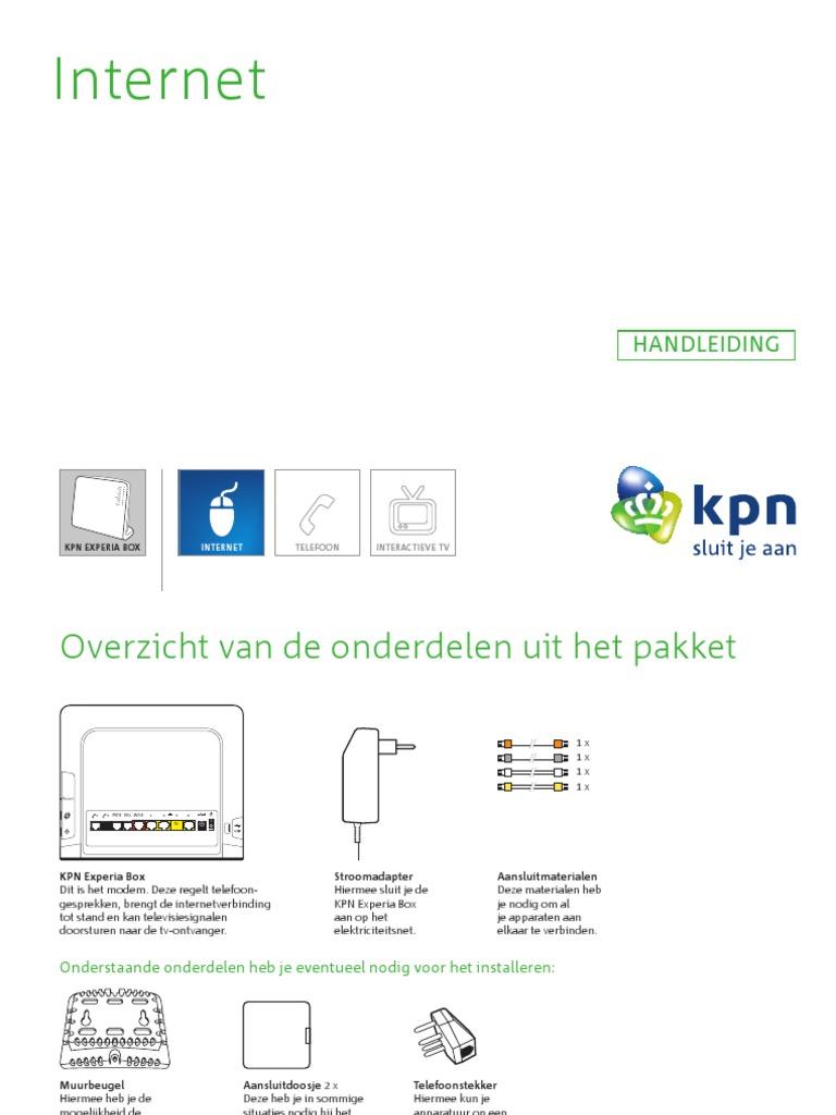 Kpn Internet Adsl Vdsl Tg789 Handleiding2 Webversie