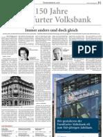 150 Jahre Frankfurter Volksbank