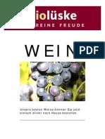Biolüske Weinkatalog