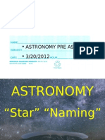 Astronomy Preview and Ch 1 b