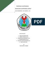 Proposal Elektronika