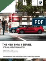 BMW 1series Catalogue