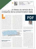 L'intelligence réseau au service de la croissance de la consommation data