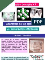 3. Geometría de los cristales I