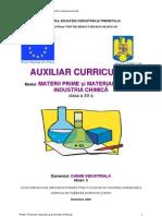 Materii Prime Si Materiale Pentru Industria Chimica