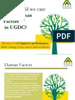 Human Factor Presentation