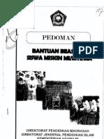 PEDOMAN BSM 2012